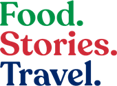 Logo, Food. Stories. Travel. (website owned by CB Hospitality Services LLC)