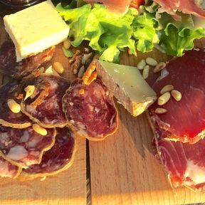 Local Cured Meat and Cheese
