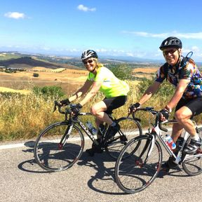 Tuscany Cycling in Crete Senesi