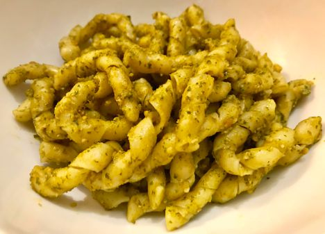 Busiate with Trapanese Pesto